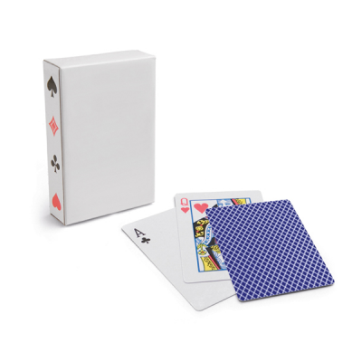 Image of Pack Of 54 Cards Laminated Paper In Paper Box