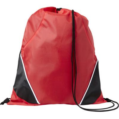 Image of Drawstring backpack made from 201D polyester
