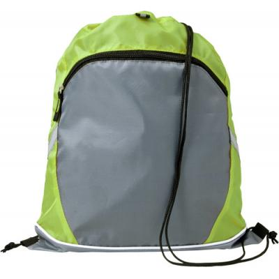 Image of Drawstring polyester backpack