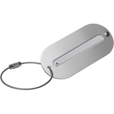 Image of Aluminium luggage tag
