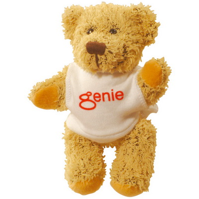 Image of 5 inch Korky Bear with White T Shirt