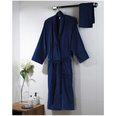 Image of Velour Bath Robe