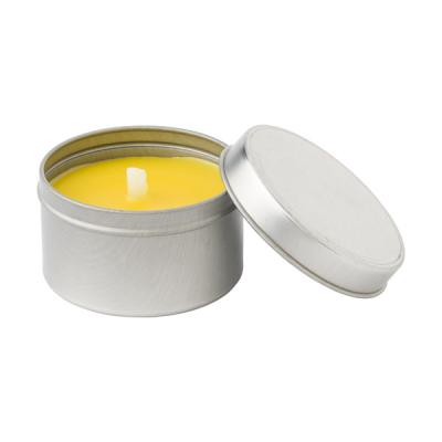 Image of Citronella candle in round tin
