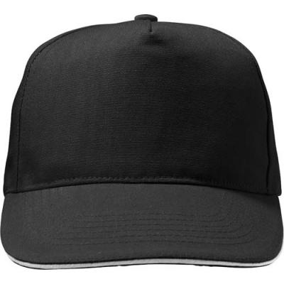 Image of Polycanvas (600D) five panel sandwich cap